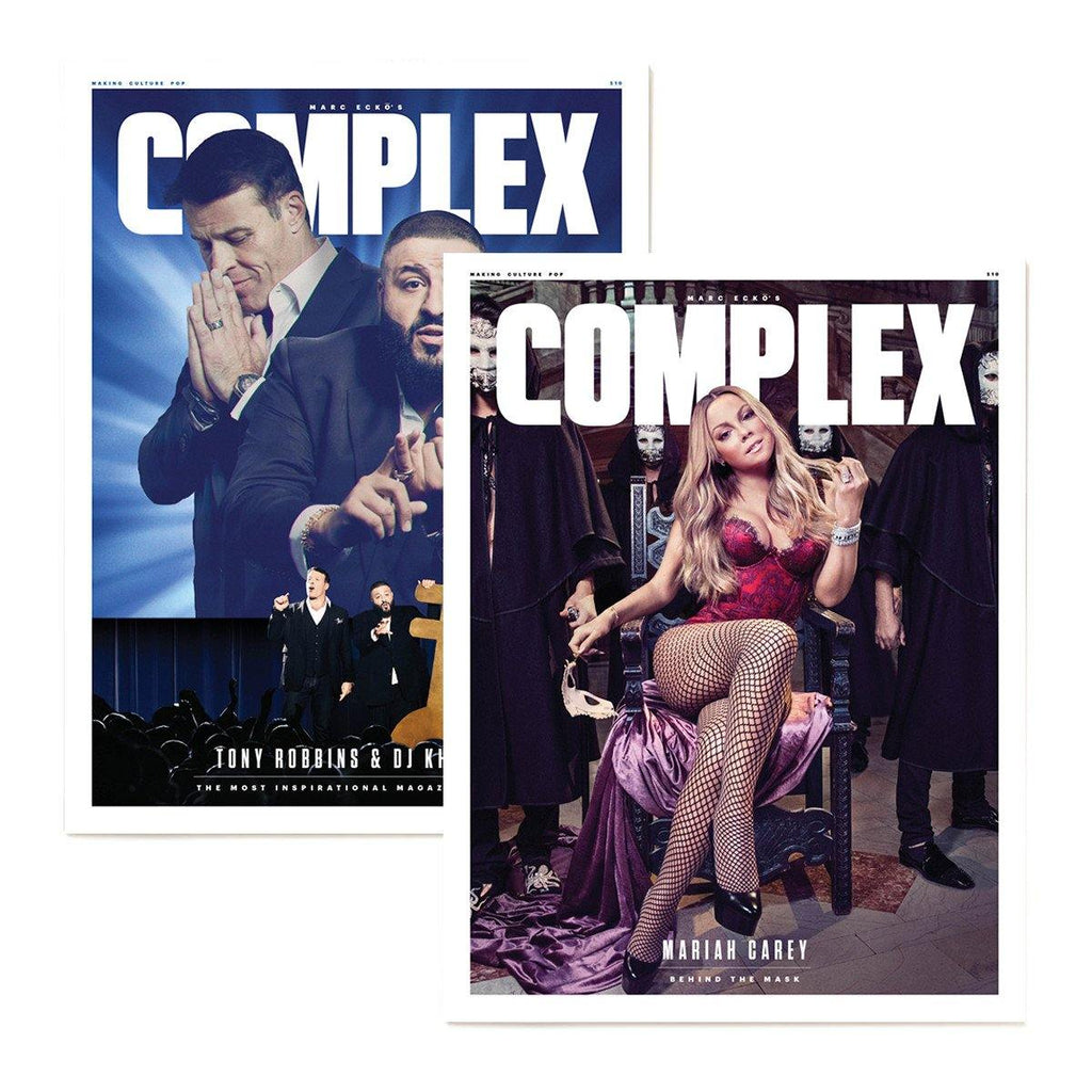 Complex Magazine Aug/Sep 2016 - DJ Khaled & Tony Robbins/Mariah Carey