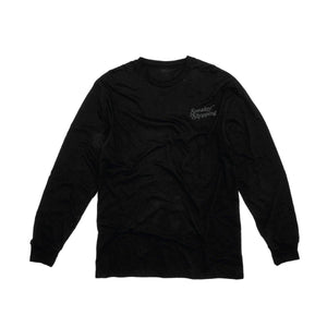 Sneaker Shopping Thank You For Shopping L/S - Black