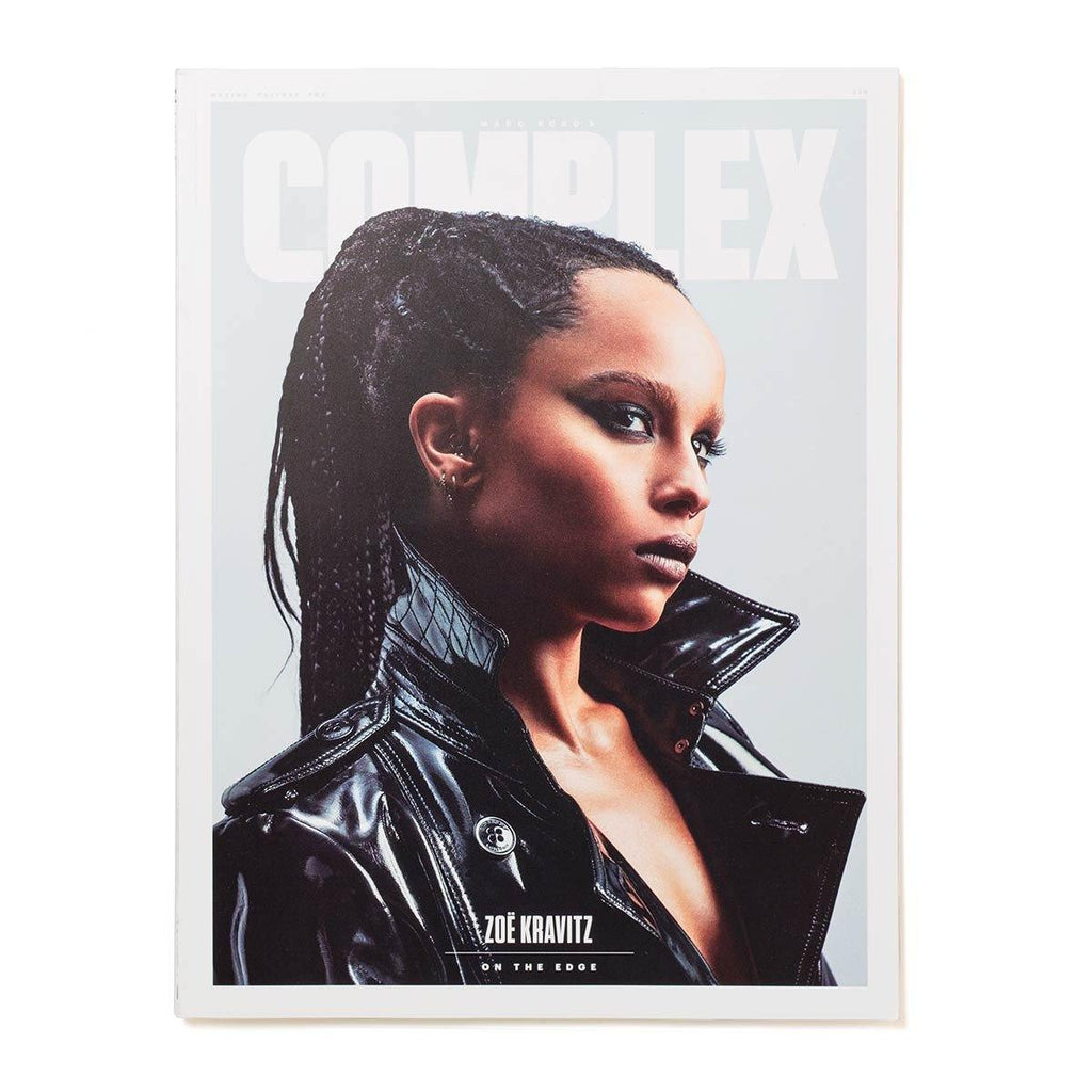 A$AP Rocky/Zoë Kravitz - Complex Magazine Apr/May 2015