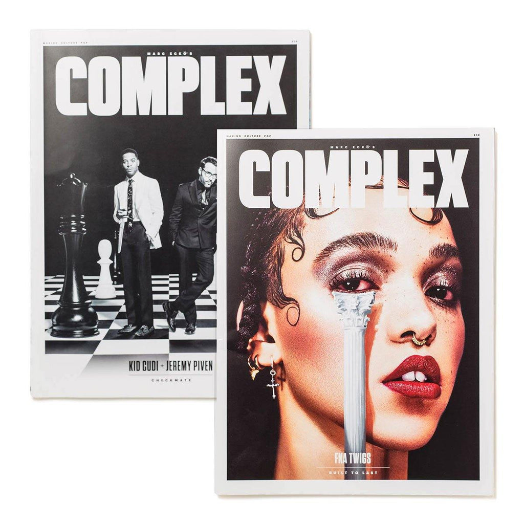 FKA twigs/Kid Cudi & Jeremy Piven - Complex Magazine Jun/Jul 2015