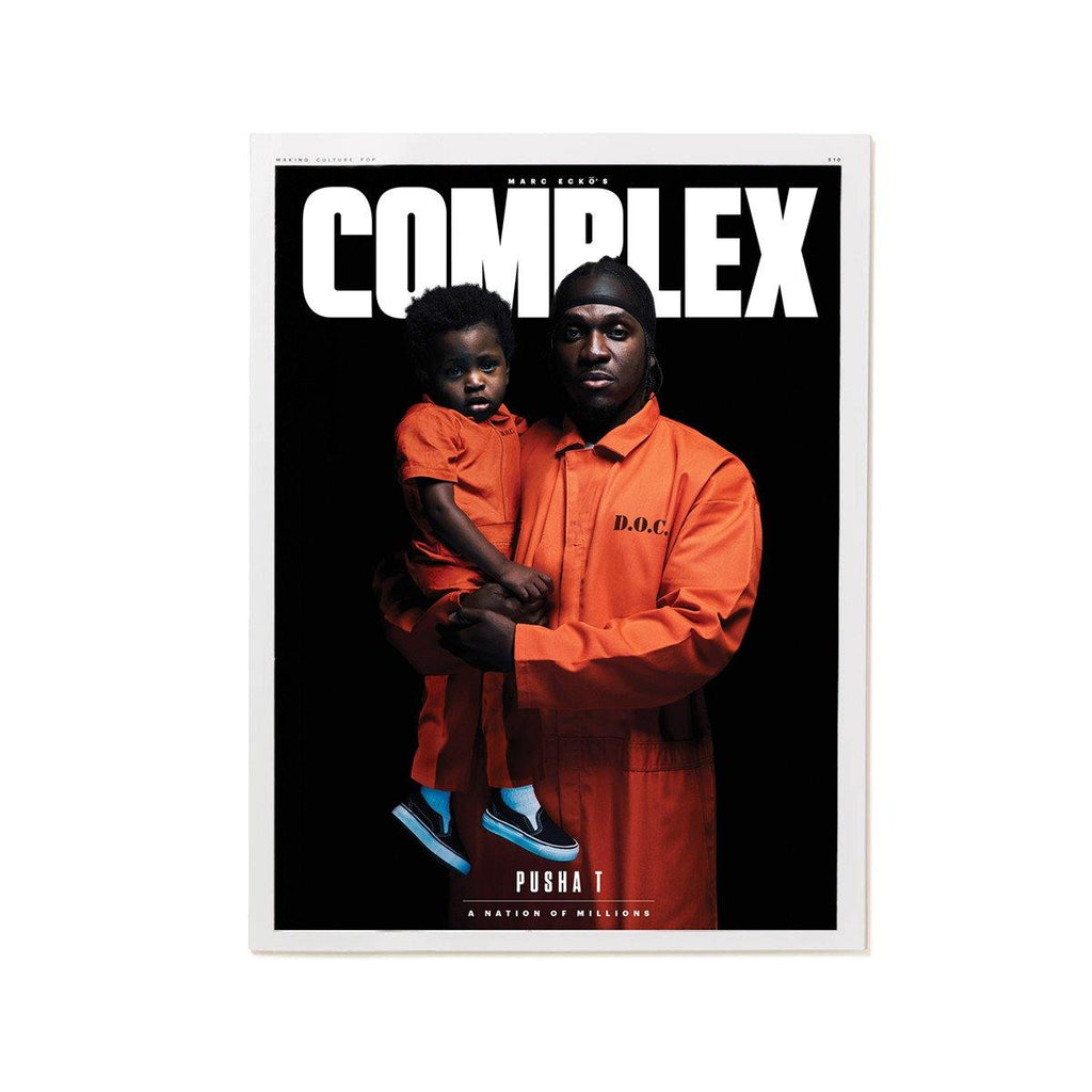 Complex Magazine Dec 2016/Jan 2017 - Pusha T/Sofia Richie