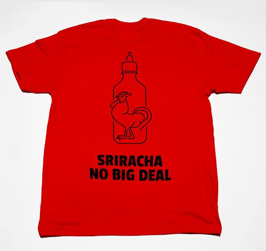 "First We Feast: Hot Ones ""Sriracha No Big Deal"" Tee"