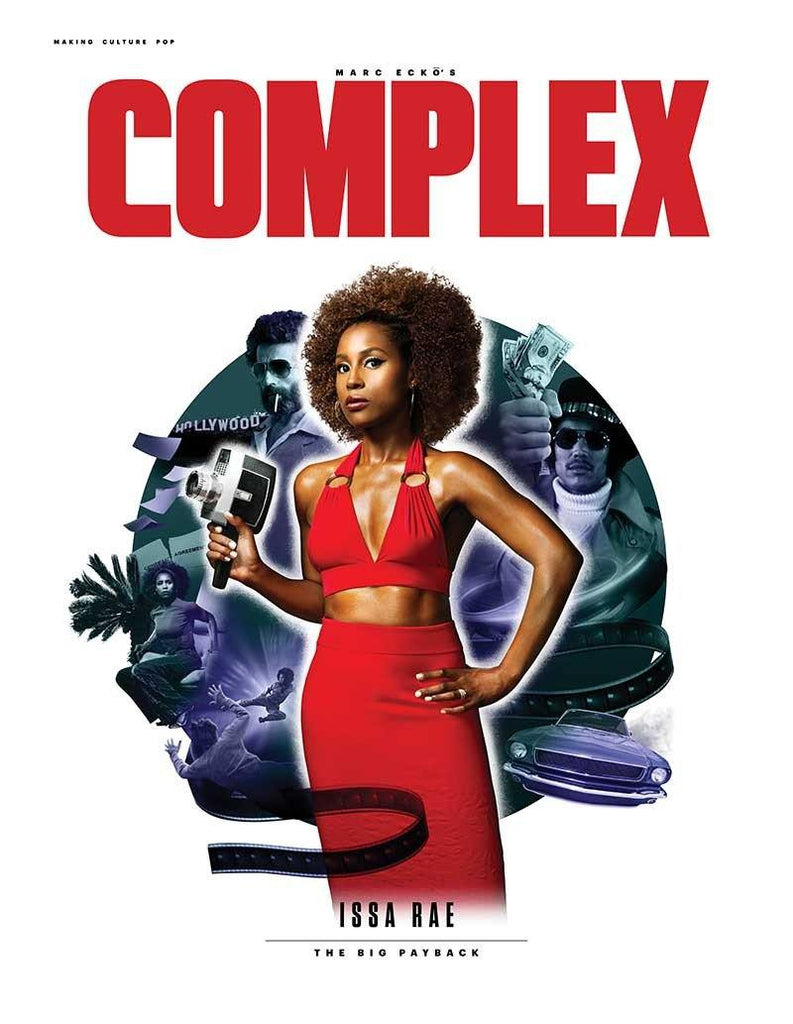 Issa Rae Poster - Complex Cover July 2017