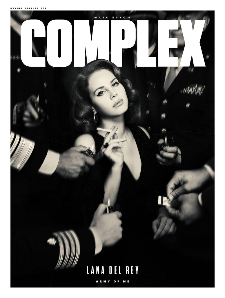 Lana Del Rey Poster - Complex Cover August 2017