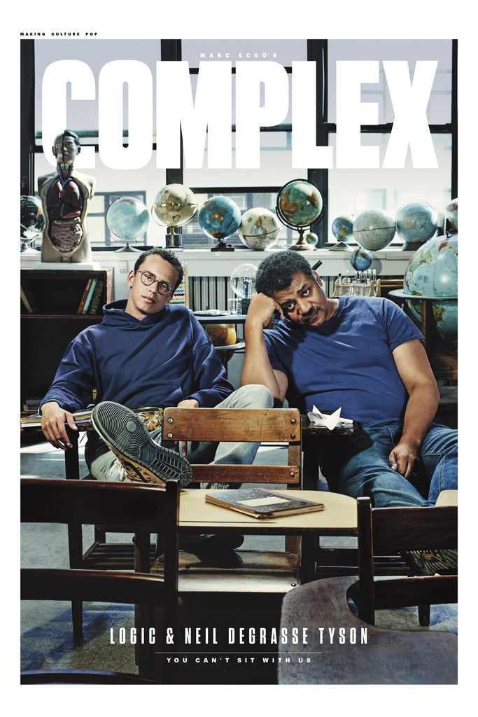 Logic and Neil deGrasse Tyson Poster - Complex Cover May 2017