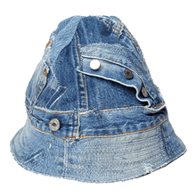 Load image into Gallery viewer, Levi's® SecondHand Reworked by Makayla Wray - Multi Denim Hat