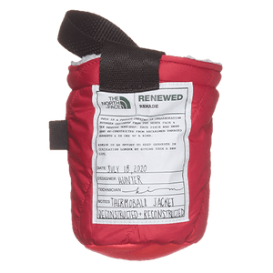 THE NORTH FACE REMADE: UPCYCLED CHALK BAG - SUNSET