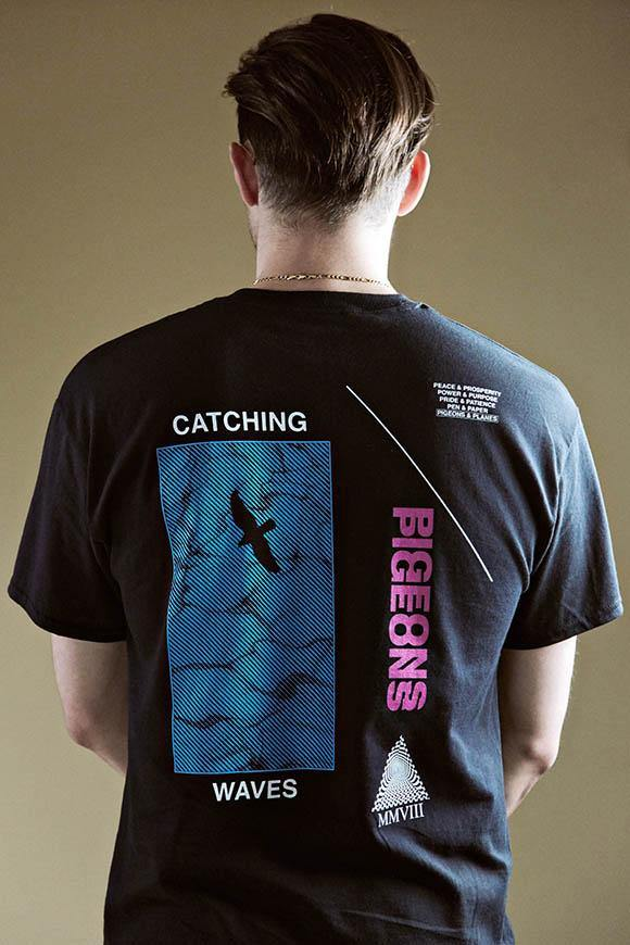 Pigeons & Planes: Catching Waves T-Shirt