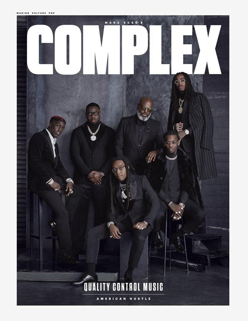 Quality Control Music Poster - Complex Cover February 2018