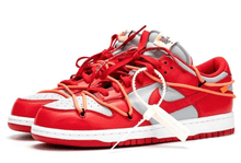 Load image into Gallery viewer, Off-White x Dunk Low 'University Red'
