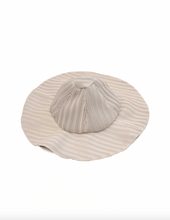 Load image into Gallery viewer, Reworked Pleated Bucket Hat - White