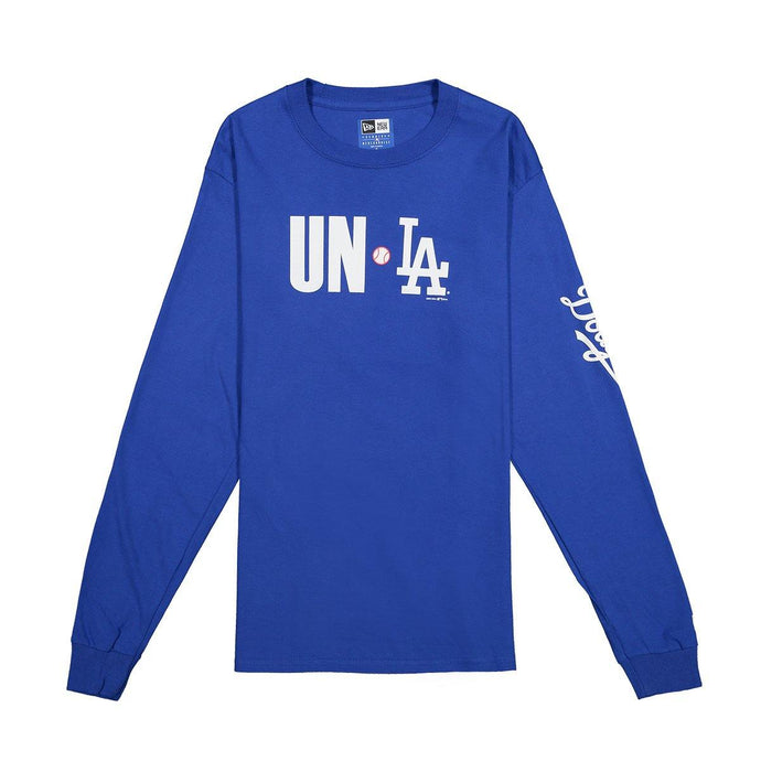 Union x Dodgers Long Sleeve Tee - Blue