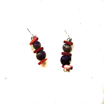 Bogota Orange Peel Earrings