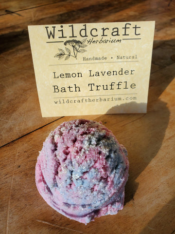 Lemon Lavender Bath Truffle