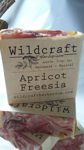 Apricot Freesia Soap Bar