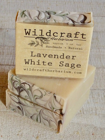 Lavender White Sage Soap Bar