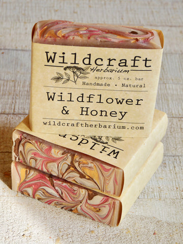 Wildflower & Honey Soap Bar