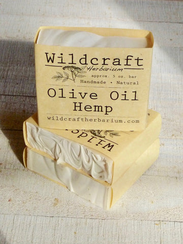 Olive Oil Hemp Soap Bar