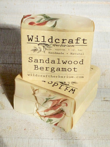 Sandalwood Bergamot Soap Bar