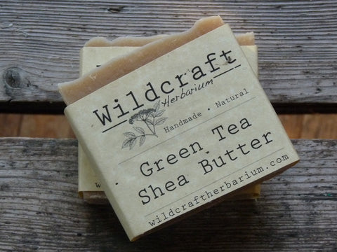 Green Tea Shea Butter Soap Bar