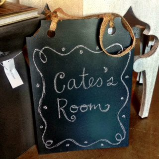 Zinc Chalkboard with Jute Ribbon (3)