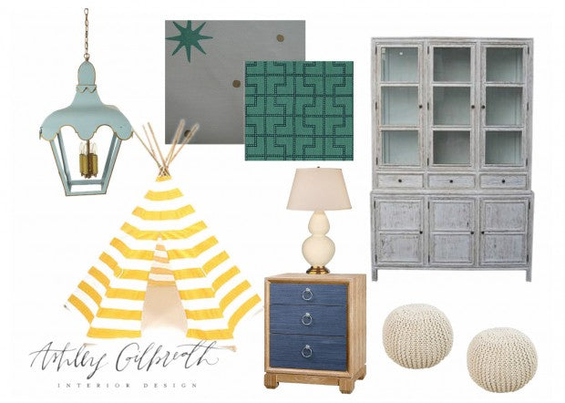 Playroom Inspiration Board