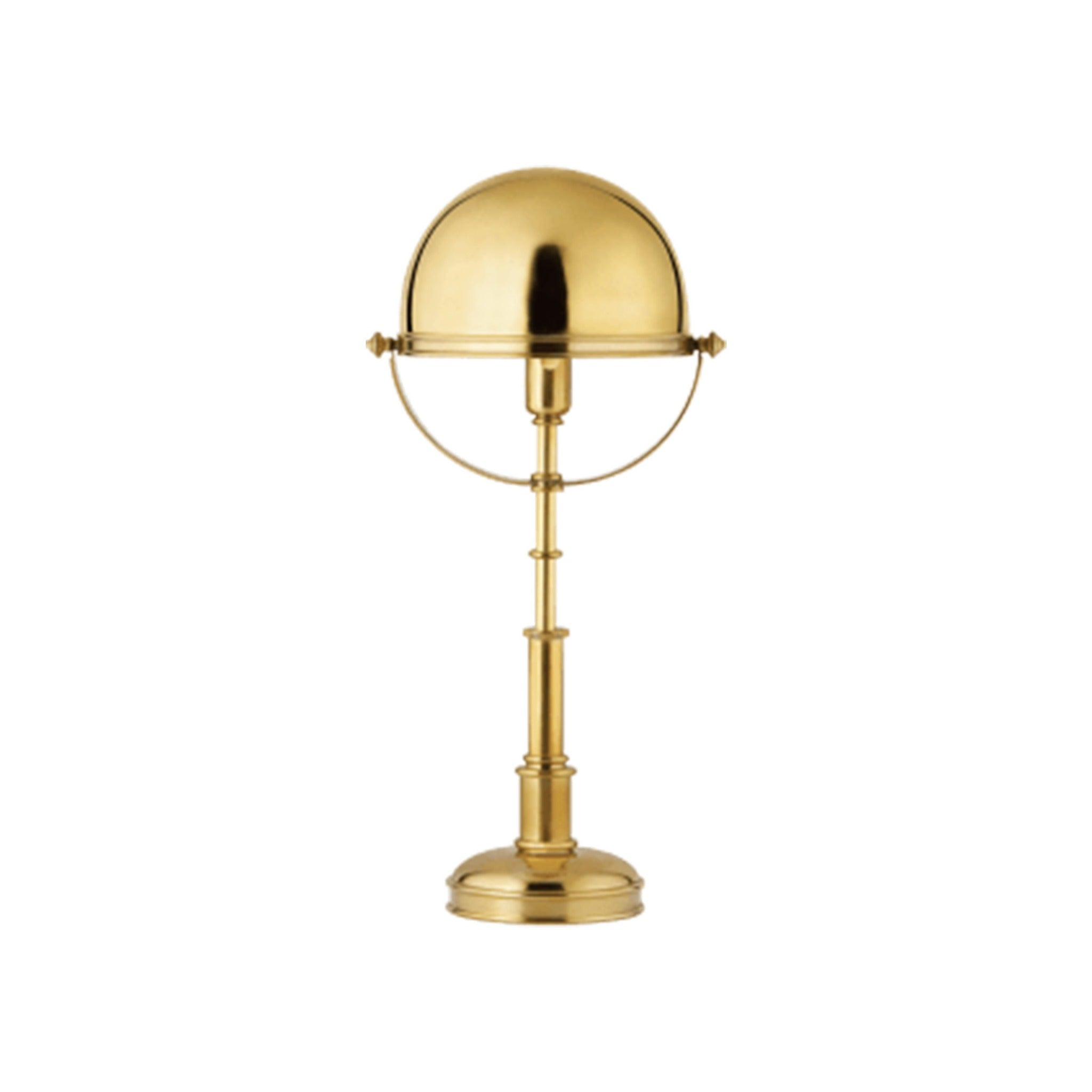 Natural Brass Mini Lamp