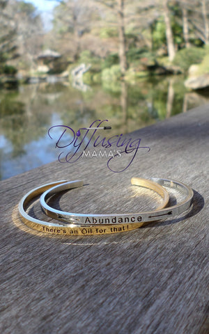 Passion Cufflets - Abundance or There's an Oil for That!