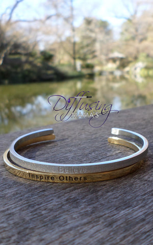 Passion Cufflets - Glitter Believe and Inspire Others