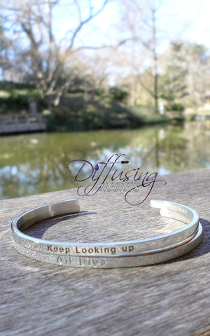 Passion Cufflets - Keep Looking Up and Glitter Oil Diva