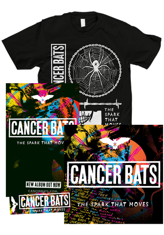 CANCER BATS - The Spark That Moves (CD Bundle)
