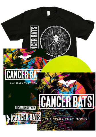 CANCER BATS - The Spark That Moves (LP Bundle)