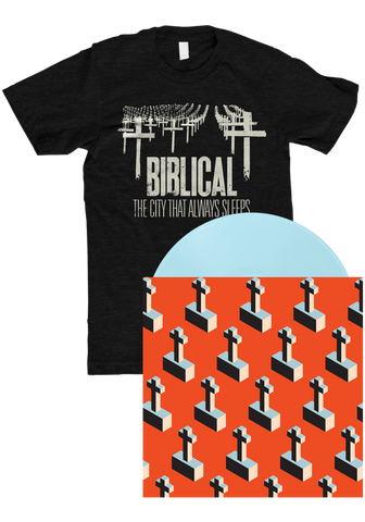 BIBLICAL - The City That Always Sleeps (LP Bundle)