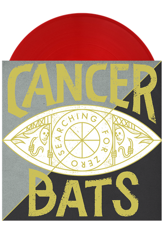 CANCER BATS - Searching For Zero (Translucent Red LP) - New Damage Records