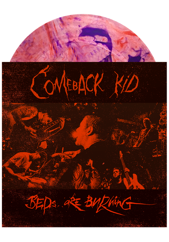 "COMEBACK KID - Beds Are Burning / Little Soldier (Orange/Purple Splatter 7"")"