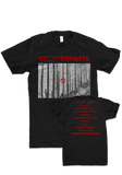 COUNTERPARTS - You're Not You Anymore (Clear LP + Black T-Shirt)