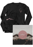 CARDINALS PRIDE - The Quiet Erosion (CD / Longsleeve Bundle)