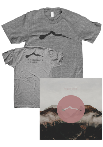 CARDINALS PRIDE - The Quiet Erosion (CD / Shirt Bundle)