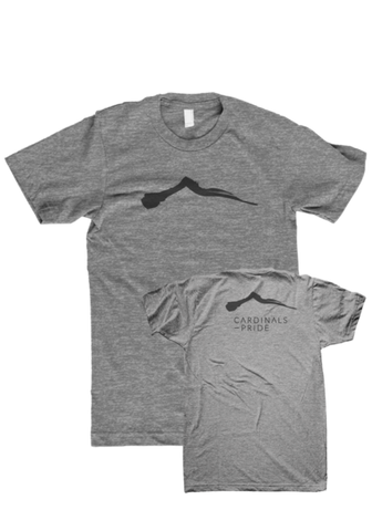 CARDINALS PRIDE - T-Shirt (Grey)