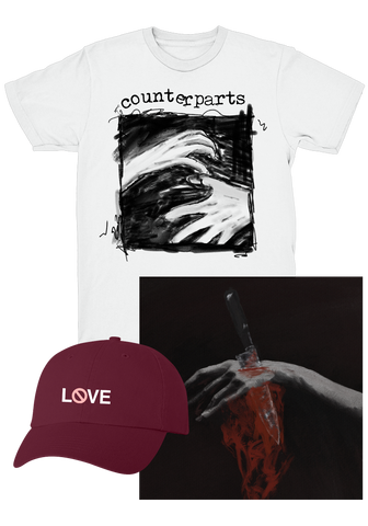 COUNTERPARTS - Nothing Left To Love (CD Bundle)