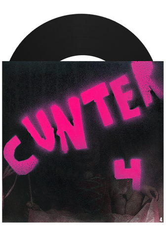 "CUNTER - 4 (Black 7"") - New Damage Records"