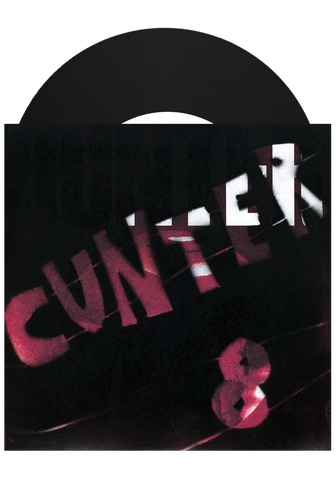 "CUNTER - 8 (Black 7"") - New Damage Records"