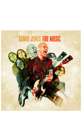 DANKO JONES - Fire Music (CD) - New Damage Records