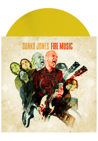DANKO JONES - Fire Music (Yellow LP) - New Damage Records