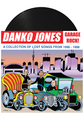 DANKO JONES - Garage Rock (Black LP) - New Damage Records