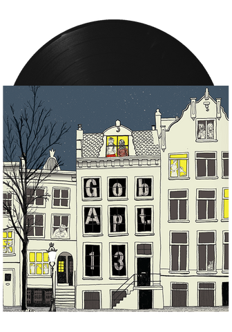 GOB - Apt. 13 (Black LP) - New Damage Records