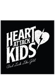 HEART ATTACK KIDS - Bad Luck Like Gold (CD) + T-Shirt