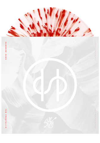 HUNDRED SUNS - The Prestaliis (Clear w/ Red Splatter LP)