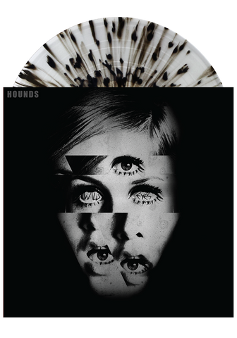 HOUNDS - Wild Eyes (Clear w. Black Splatter LP) - New Damage Records