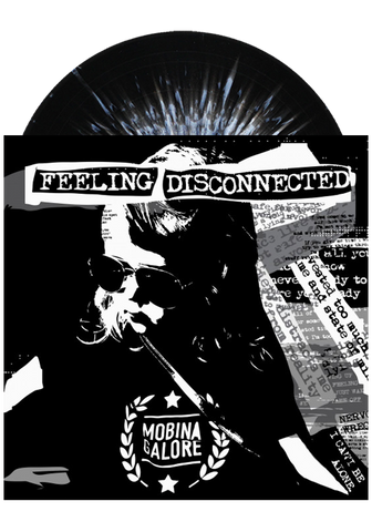 MOBINA GALORE - Feeling Disconnected (Splatter LP) - New Damage Records